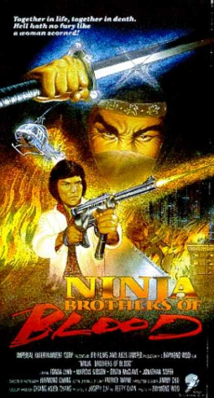 VHS Videos - Ninja Brothers Of Blood