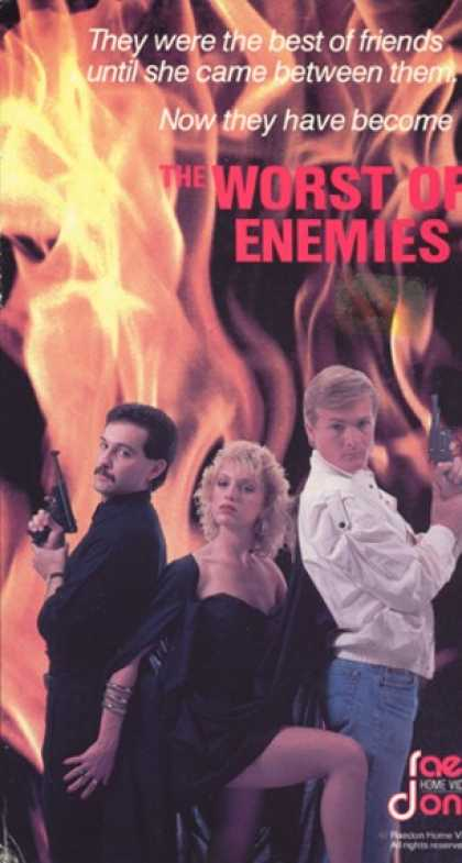 VHS Videos - Worst Of Enemies