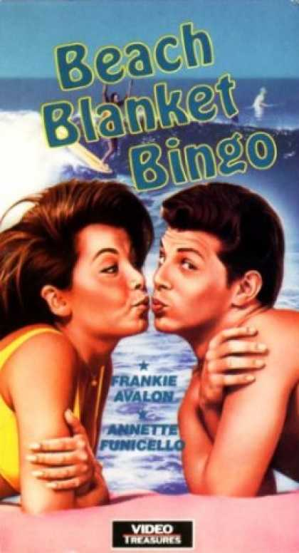 VHS Videos - Beach Blanket Bingo