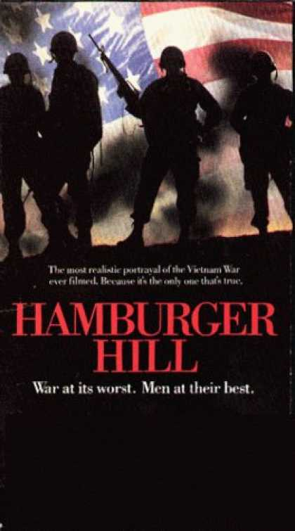 VHS Videos - Hamburger Hill
