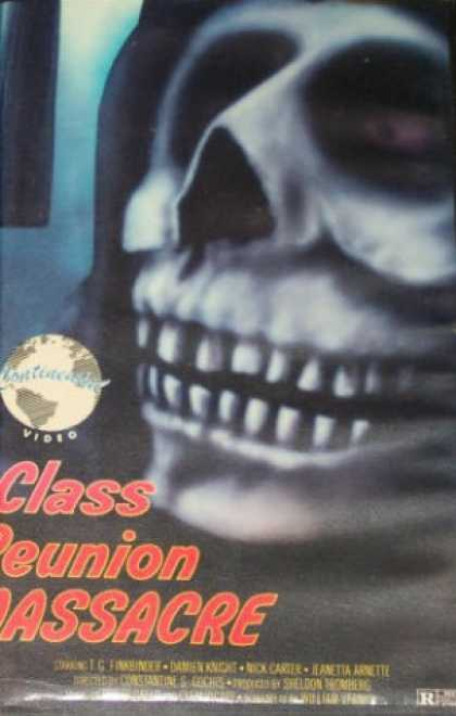 VHS Videos - Class Reunion Massacre