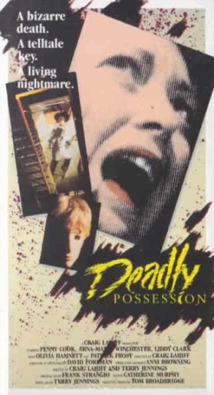 VHS Videos - Deadly Possession