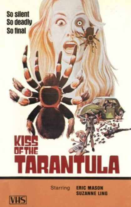 VHS Videos - Kiss Of the Tarantula