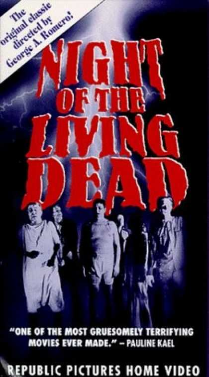 VHS Videos - Night Of the Living Dead
