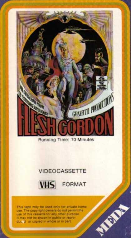 VHS Videos - Flesh Gordon