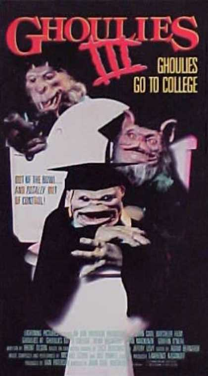 VHS Videos - Ghoulies 3