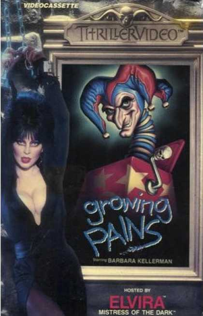 VHS Videos - Growing Pains Thrillervideo