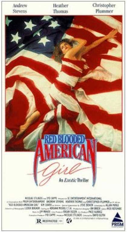 VHS Videos - Red Blooded American Girl