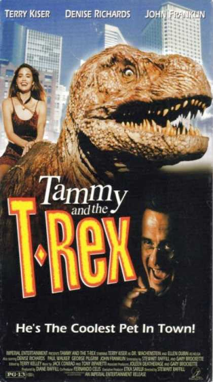 VHS Videos - Tammy and the T Rex