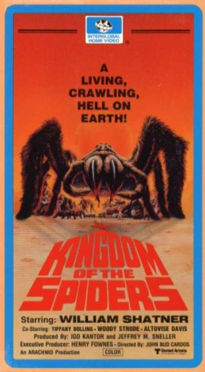 VHS Videos - Kingdom Of the Spiders
