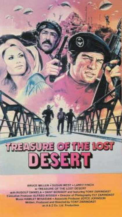 VHS Videos - Treasure Of the Lost Desert