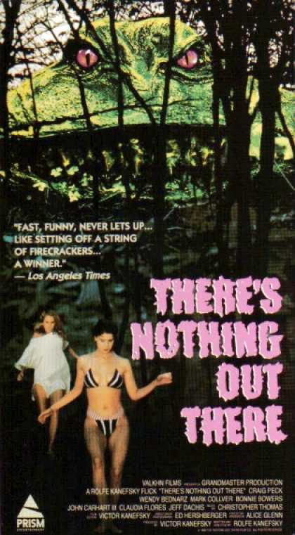 VHS Videos - There's Nothing Out There