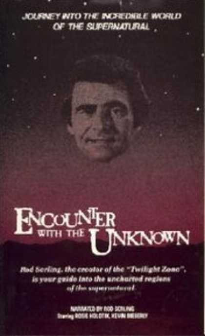 VHS Videos - Encounter With the Unknown United