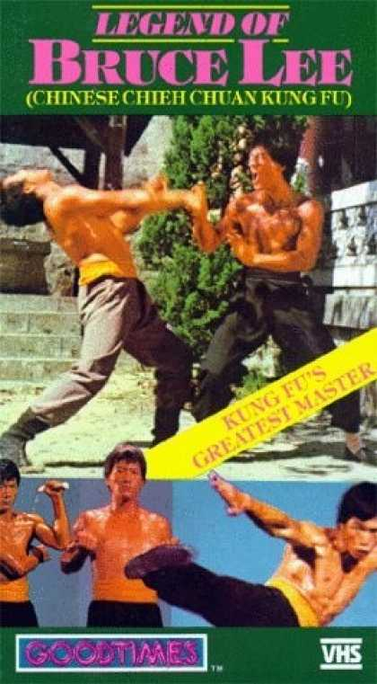 VHS Videos - Legend Of Bruce Lee