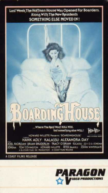 VHS Videos - Boarding House