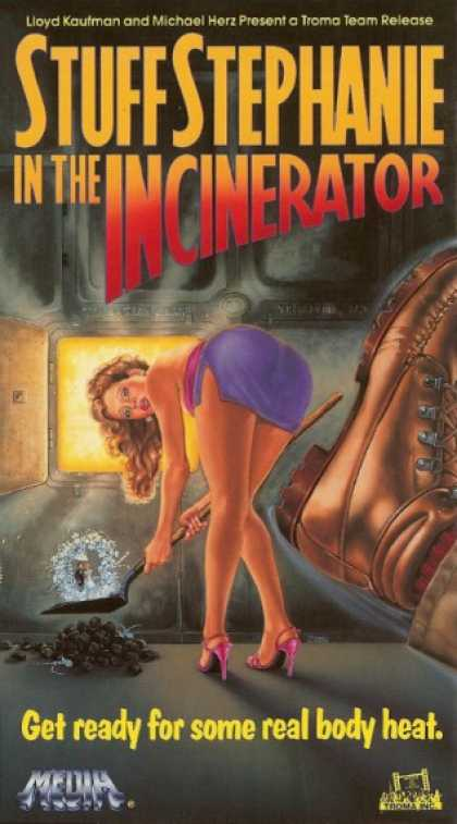 VHS Videos - Stuff Stephanie in the Incinerator