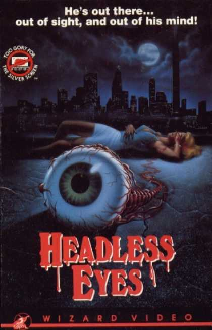 VHS Videos - Headless Eyes