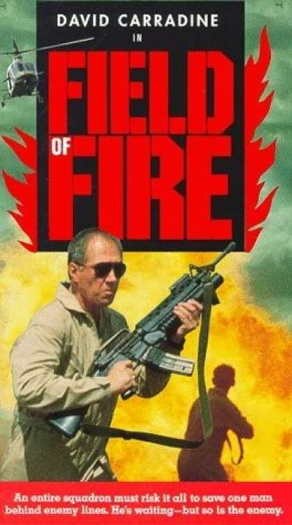 VHS Videos - Field Of Fire