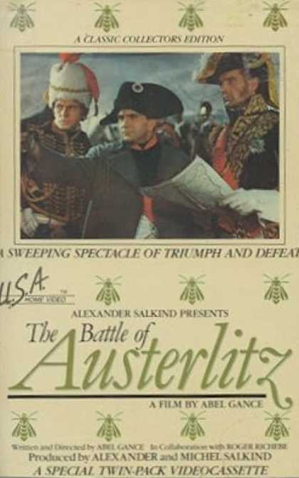 VHS Videos - Battle Of Austerlitz