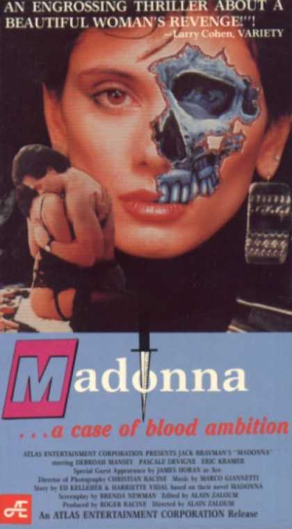 VHS Videos - Madonna A Case Of Blood Ambition