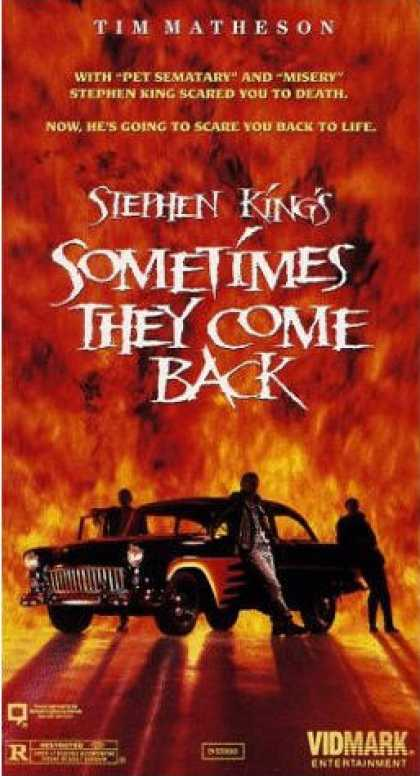 VHS Videos - Sometimes They Come Back
