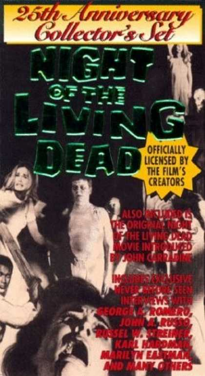 VHS Videos - Night Of the Living Dead 25th Anniversary