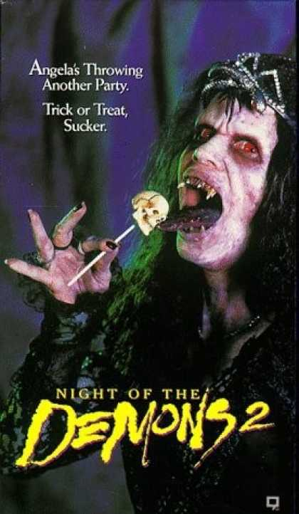 VHS Videos - Night Of the Demons 2