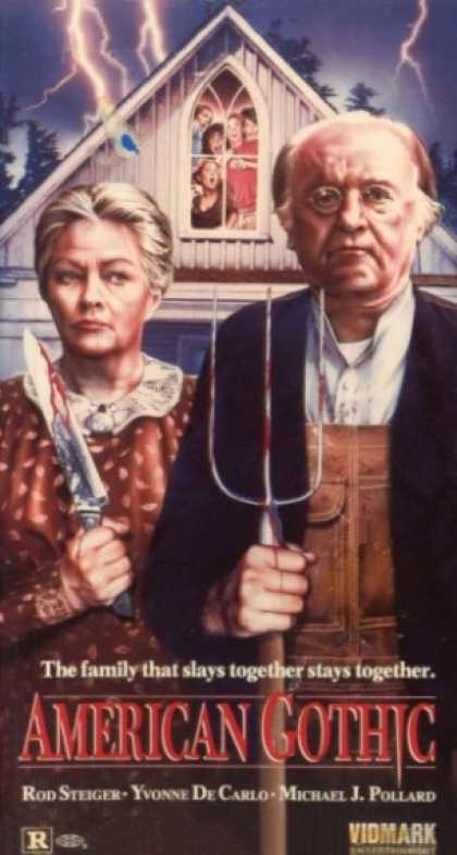VHS Videos - American Gothic