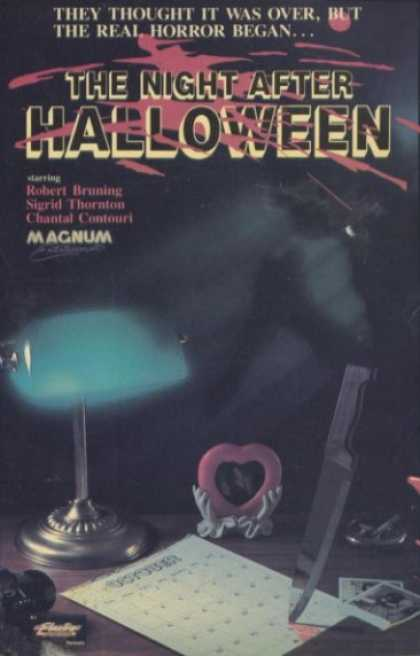 VHS Videos - Night After Halloween