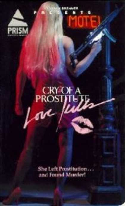 VHS Videos - Cry Of A Prostitute