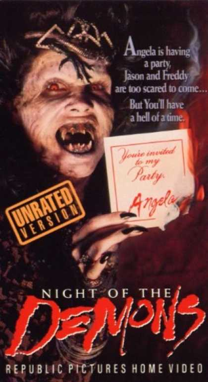 VHS Videos - Night Of the Demons