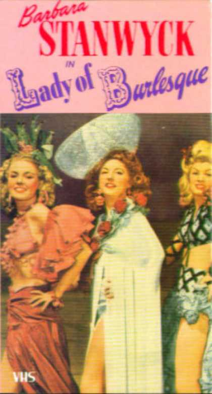 VHS Videos - Lady Of Burlesque