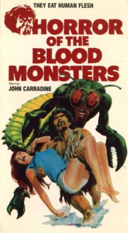 VHS Videos - Horror Of the Blood Monsters