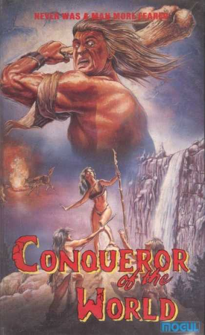 VHS Videos - Conqueror Of the World