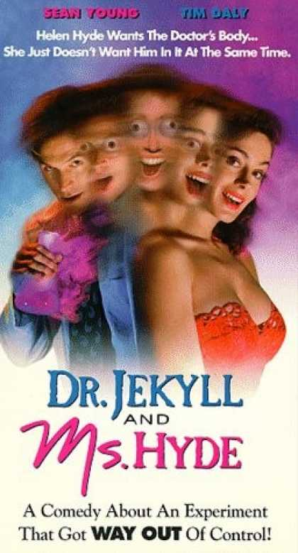 VHS Videos - Dr. Jekyll and Ms. Hyde