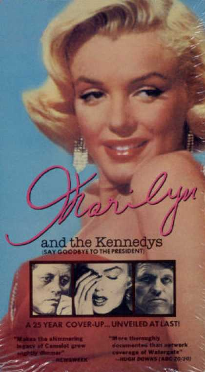 VHS Videos - Marilyn and the Kennedys American