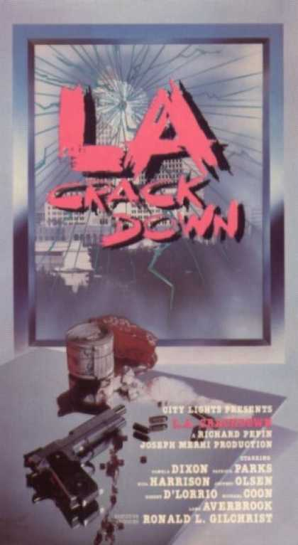 VHS Videos - L.a. Crackdown City Lights