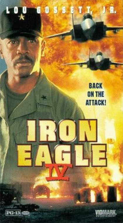 VHS Videos - Iron Eagle Iv