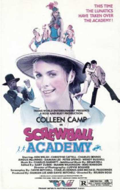 VHS Videos - Screwball Academy Twe