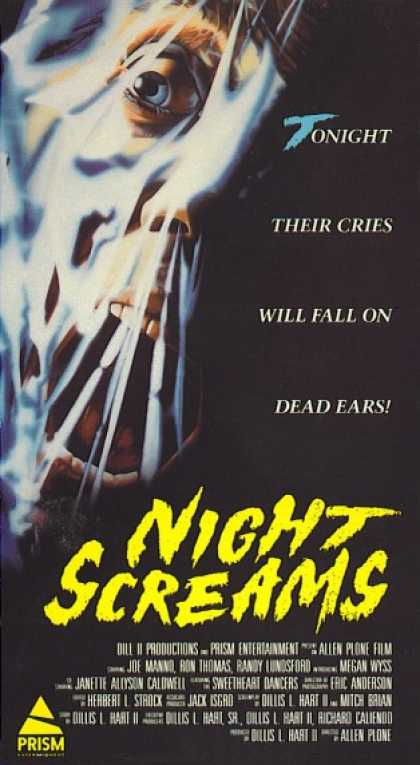 VHS Videos - Night Screams