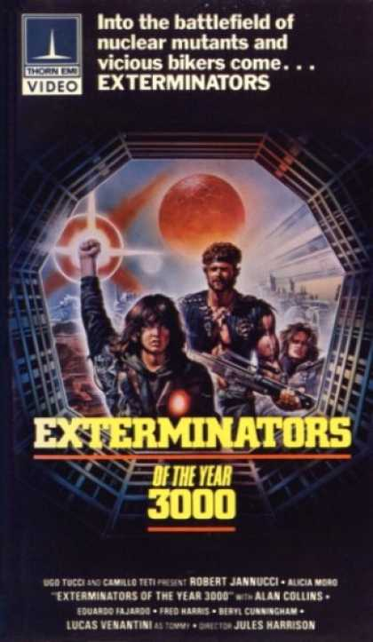 VHS Videos - Exterminators Of the Year 3000 Thorn