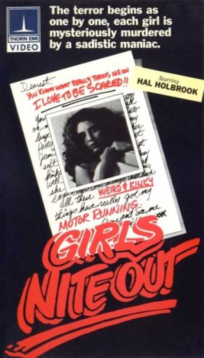 VHS Videos - Girls Nite Out Thorn
