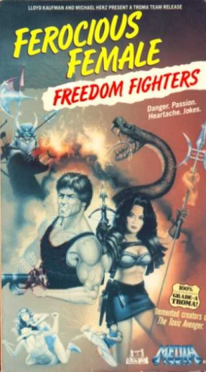 VHS Videos - Ferocious Female Freedom Fighters