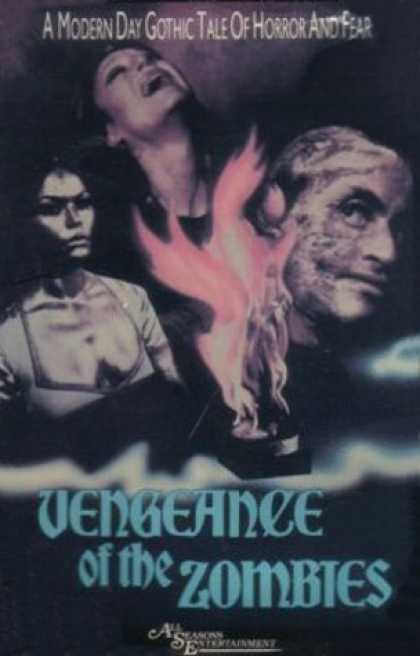 VHS Videos - Vengeance Of the Zombies