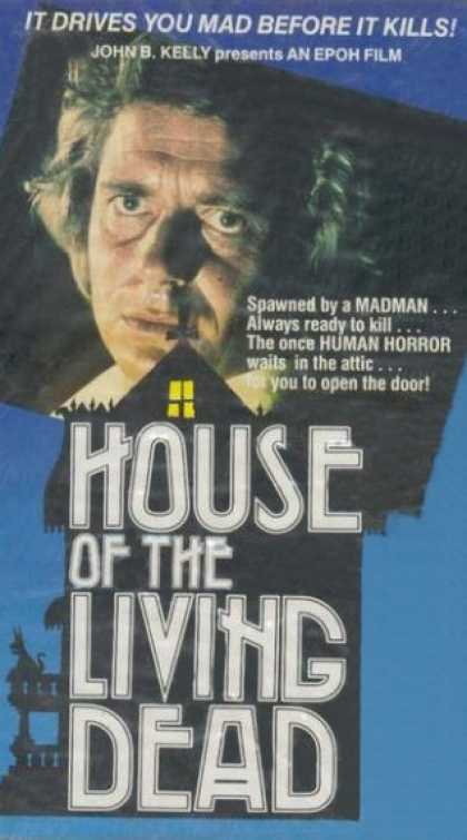 VHS Videos - House Of the Living Dead United