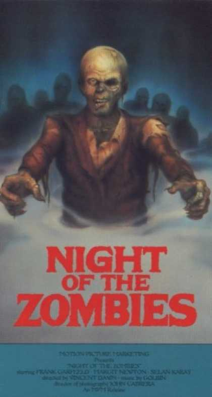 VHS Videos - Night Of the Zombies