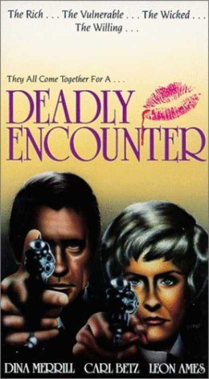 VHS Videos - Deadly Encounter