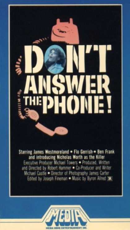 VHS Videos - Don't Answer the Phone