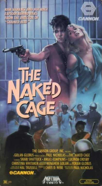 VHS Videos - Naked Cage