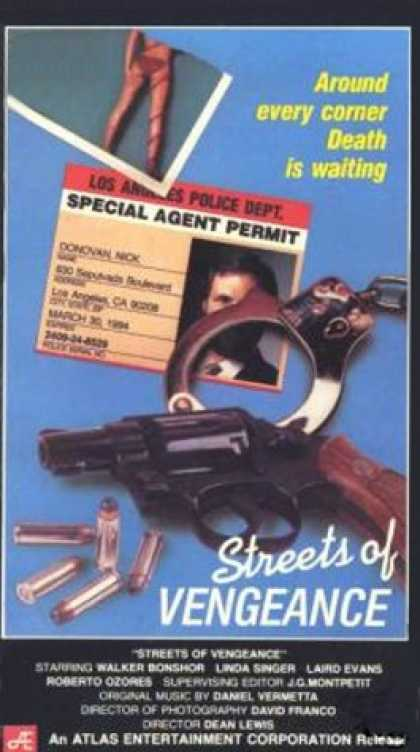 VHS Videos - Streets Of Vengeance